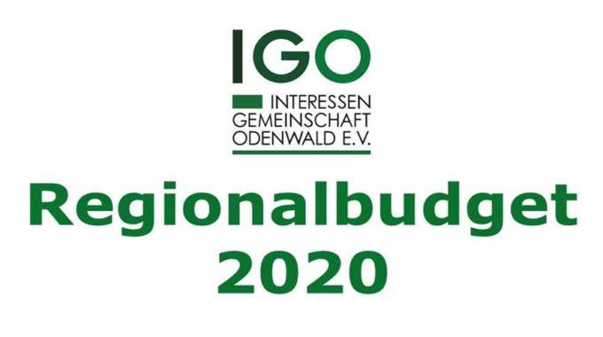 Projektaufruf Regionalbudget 2020