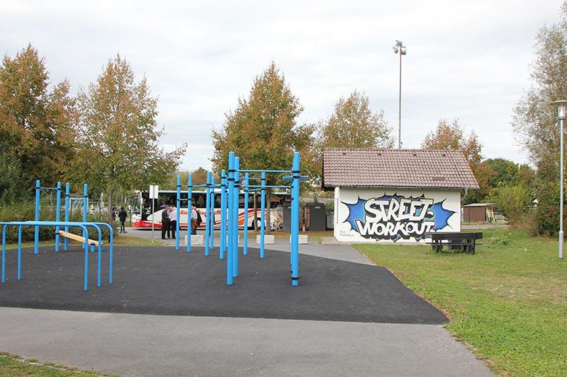 Streetworkout-Park Rimbach