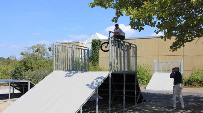 Skate- Und BMX-Anlage Am Jugendzentrum Lautertalhalle