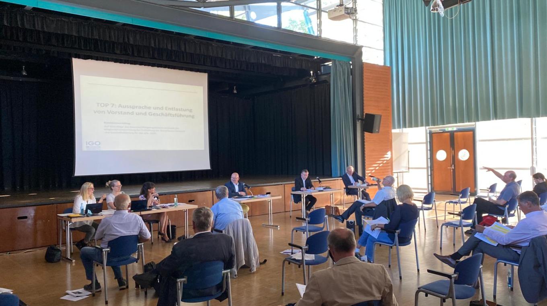 Rückblick IGO Mitgliederversammlung Am 8. September 2020